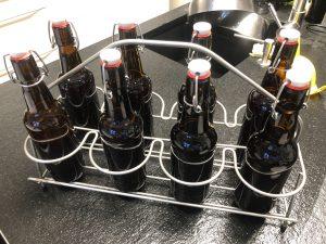 Projekt eigenes Bier – Abfülltag