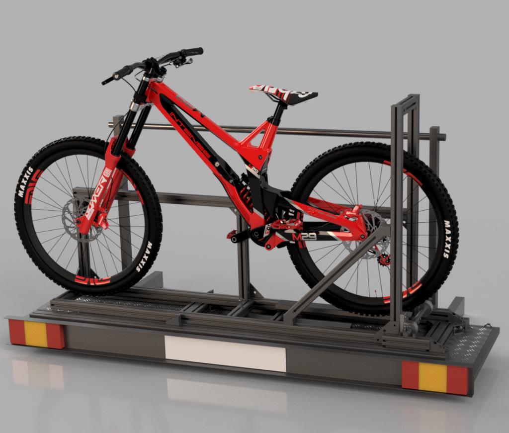 Fahrrad Transport ohne Umbau des Trägers